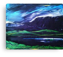 'Llyn Cregennan and Cadair Idris' Canvas Print
