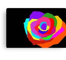 Bright Petals Canvas Print