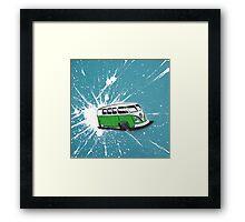 Dub Splat 04 Painting Framed Print