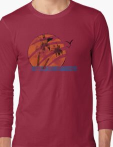 Scarred Sunset Long Sleeve T-Shirt