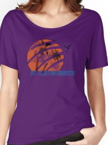 Scarred Sunset Women's Relaxed Fit T-Shirt