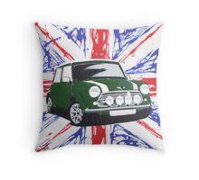 British Mini 01 Painting Throw Pillow