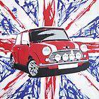 British Mini 02 Painting by Richard Yeomans
