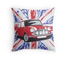 British Mini 02 Painting Throw Pillow