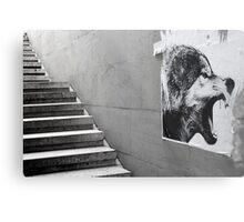Paris - The wild stairs. Metal Print