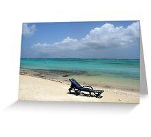 Island Isolation Greeting Card
