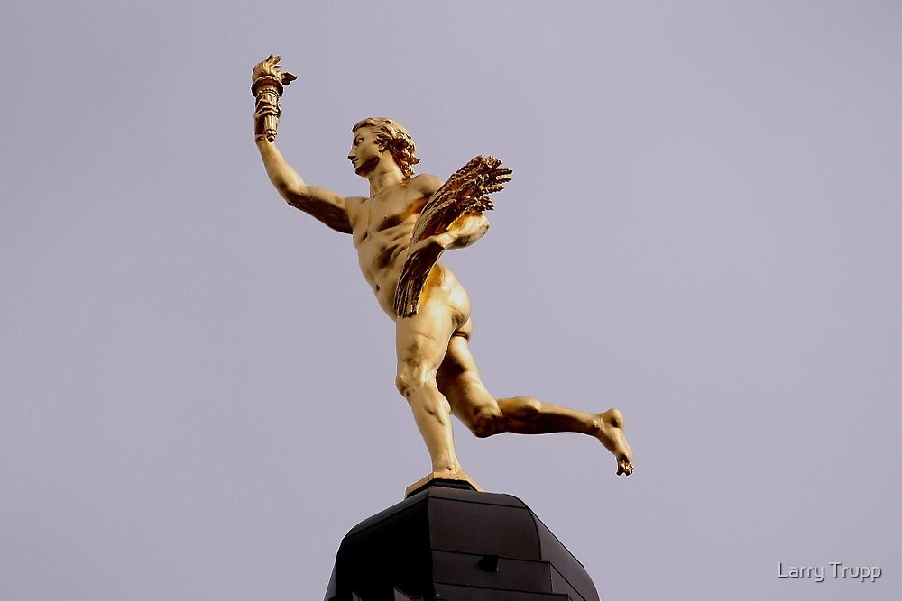 MANITOBA'S GOLDEN BOY- A HISTORICAL MONUMENT by Larry Trupp