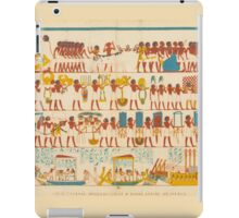 Great Funeral Procession of a Royal Scribe at Thebes iPad Case/Skin