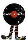 Funny Vinyl Records Lover - Grunge Vinyl Record Notebooks and more by Denis Marsili - DDTK