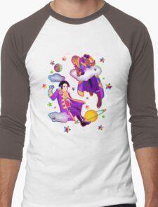 Lisa Frank Babylon 5 Londo Mollari and G'Kar  Men's Baseball ¾ T-Shirt