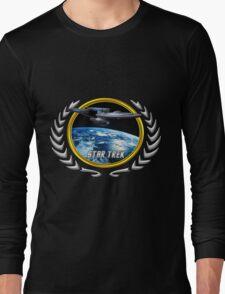 Star trek Federation of Planets Enterprise Refit Long Sleeve T-Shirt