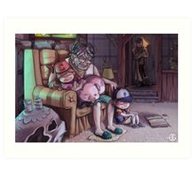 All For This Family Art Print