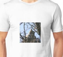 GREAT HORNED OWL AND BABY Unisex T-Shirt