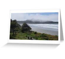 Pacific Rim National Park,  Long Beach Greeting Card