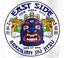 ESBJJ East Side Brazilian Jiu Jitsu Poster