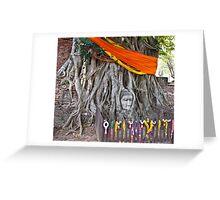 Buddha in the Banyan Tree Greeting Card