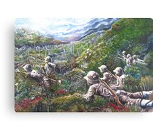 A World at War Canvas Print