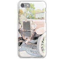 Unloved Vintage Car iPhone Case/Skin
