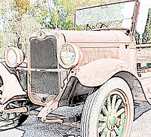 Unloved Vintage Car by John Wallace