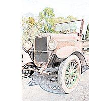 Unloved Vintage Car Photographic Print
