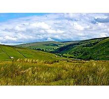 How Green is My Valley Photographic Print