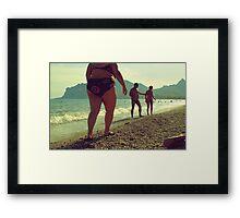 ass Framed Print