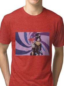 Moxxi Cutout Design Tri-blend T-Shirt