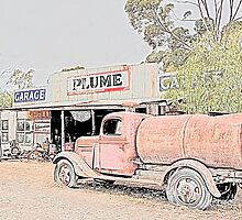 Heritage Garage and Tanker by John Wallace
