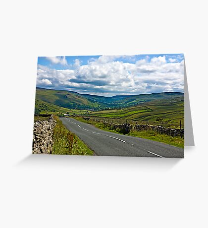 The Road to Muker  (Yorks Dales) Greeting Card