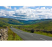 The Road to Muker  (Yorks Dales) Photographic Print