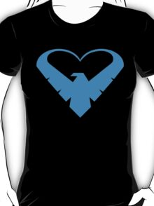 Nightwing Heart T-Shirt