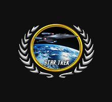 Star trek Federation of Planets Enterprise Galaxy Class Dreadnought Unisex T-Shirt