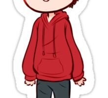 Stiles Stilinksi Teen Wolf Chibi Sticker