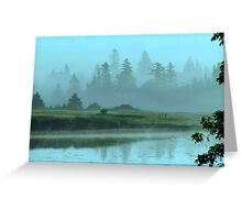 Turquoise Tranquillity Greeting Card