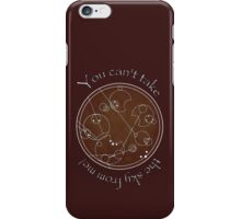 """""""You can't take the sky from me!"""" in Gallifreyan iPhone Case/Skin"""