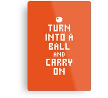 Keep Calm and Carry on Gaming1 Metal Print