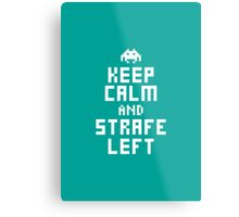 Keep Calm and Carry on Gaming3 Metal Print