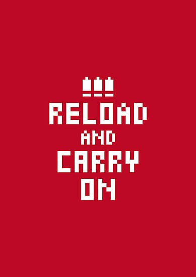 Keep Calm and Carry on Gaming4 by SevenHundred