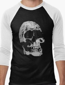 Grunge Cool Skull Men's Baseball ¾ T-Shirt