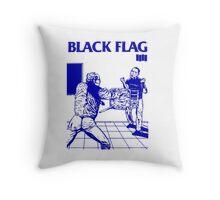 Black Flag - Nervous Breakdown Throw Pillow