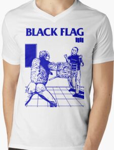 Black Flag - Nervous Breakdown Mens V-Neck T-Shirt