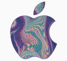 Holographic Apple by daniellecarley