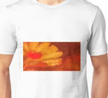 Abstract Flower Oil Painting #6 Unisex T-Shirt