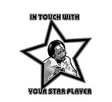 Star Player Photographic Print