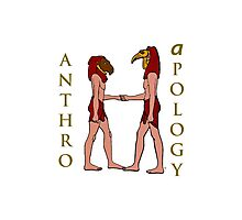 An Anthro Apology Greeting Photographic Print