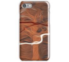 Abstract Trees Oil Painting #15 iPhone Case/Skin