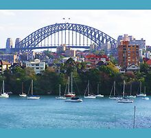 Sydney Harbour Bridge Australia  by Virginia McGowan