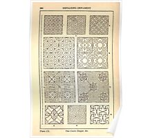A Handbook Of Ornament With Three Hundred Plates Franz Sales Meyer 1896 0296 Repeating Ornament Circle Diaper Poster