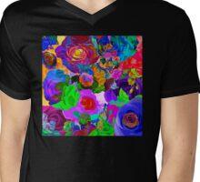Roses Upon Roses Mens V-Neck T-Shirt