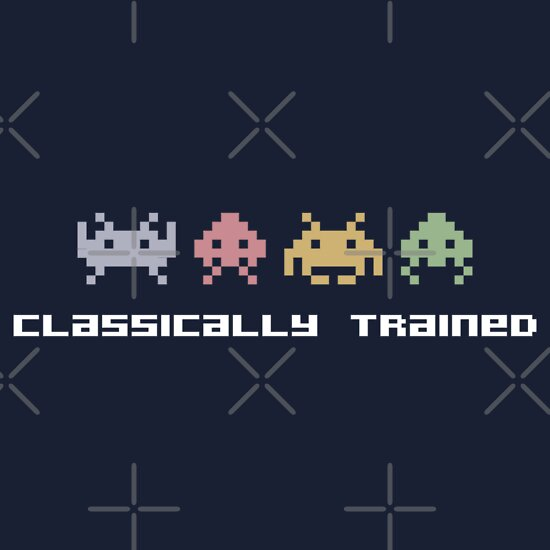 TShirtGifter presents: Classically Trained - 80s Video Games